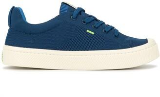 Cariuma IBI Low Mineral Blue Knit Sneaker