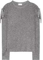RED Valentino Metallic lamé sweater