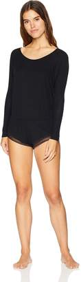 Only Hearts Women's Feather Weight Rib Reglan Romper