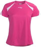 Saucony Run Lux Shirt - UPF 50+, Recycled Materials, Short Sleeve (For Women)