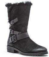 Andrew Marc Women's Hudson Genuine Rabbit Fur Boot