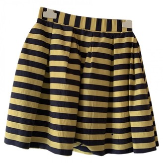 P.A.R.O.S.H. Yellow Cotton Skirt for Women