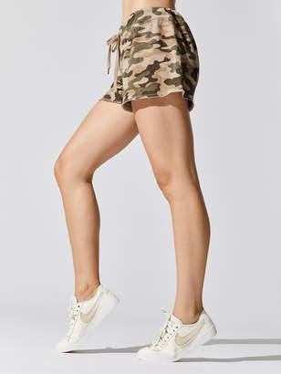 Sundry Camo Cut Off Shorts
