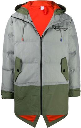 Puma Colour Block Padded Coat