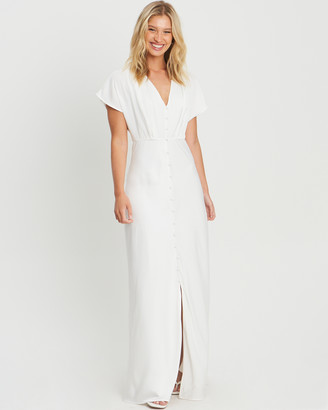 CHANCERY - Women's White Bridesmaid Dresses - Mistique Dress - Size One Size, 6 at The Iconic