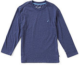 Nautica Big Boys 8-20 V-Neck Long-Sleeve Tee
