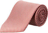 Salvatore Ferragamo Red Volleyball Silk Tie