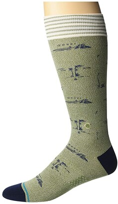 Stance Isle Tropics (Army Green) Crew Cut Socks Shoes