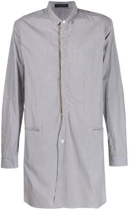 John Undercover Striped Extra Long Shirt
