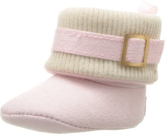 Gerber Girls' Buckle Cable Knit Boot