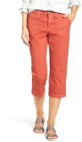 NYDJ Women's Stretch Cotton Crop Pants