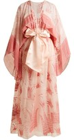 Zandra Rhodes Summer Collection The 1973 Field Of Lilies Gown - Womens - Light Pink