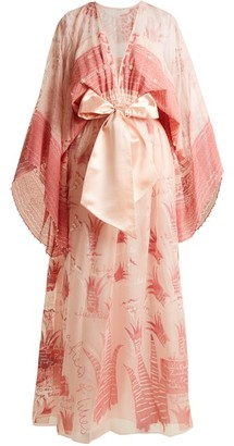 Zandra Rhodes Summer Collection The 1973 Field Of Lilies Gown - Light Pink