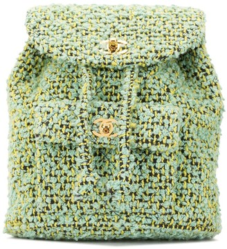 Chanel Pre Owned 1992 boucle CC backpack