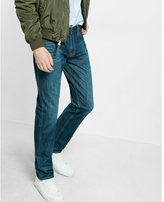 Express classic fit tapered leg jeans