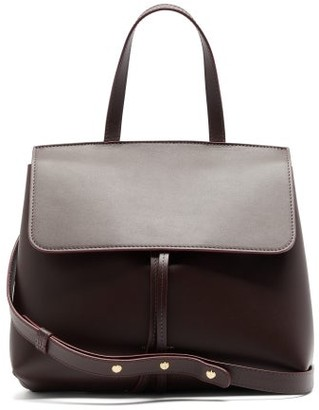 Mansur Gavriel Mini Lady Leather Cross-body Bag - Burgundy