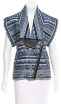 Sass & Bide Leather-Trimmed Hara Juku Jacket w/ Tags