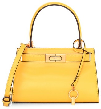 Tory Burch Petite Lee Radziwill Leather Satchel