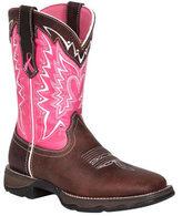 "Durango Women's Boot 10"" Pink Ribbon Lady Rebel"