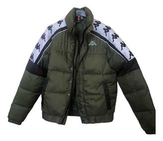Kappa Green Synthetic Jackets