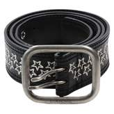 Dior Homme Black Leather Belts