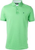 Hackett logo patch polo shirt - men - Cotton - S