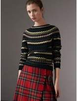 Burberry Fair Isle Wool Sweater