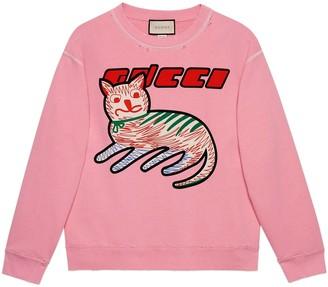 Gucci 'Fake/Not' print sweatshirt