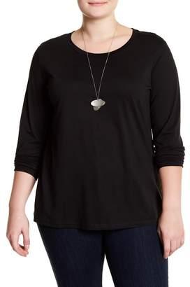 Susina Long Sleeve Layering T-Shirt (Plus Size)