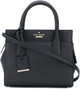 Kate Spade square tote - women - Calf Leather/Polyester/Polyurethane - One Size