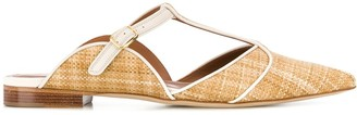 Malone Souliers Pointed Low Heel Mules