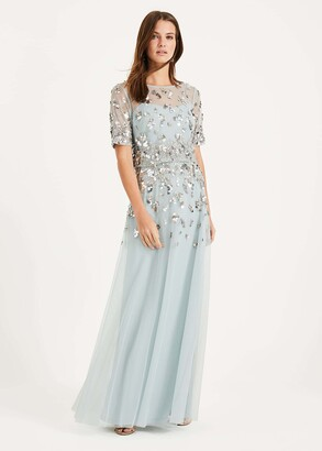 Phase Eight Christina Sequin Maxi Dress