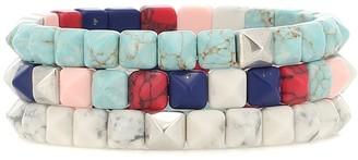 Isabel Marant Bossa set of three bracelets
