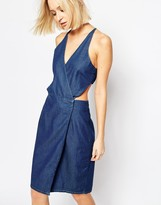 Dr. Denim Agata Cut Out Denim Dress