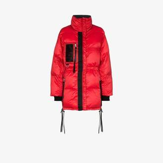 SHOREDITCH SKI CLUB Laurie reversible puffer jacket