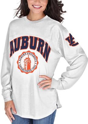 Women's White Auburn Tigers Edith Long Sleeve T-Shirt