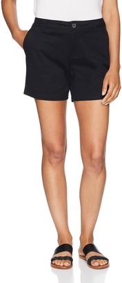 "Amazon Essentials Women's 5"" Inseam Solid Chino Short 5"" Inseam Chino Short Casual Shorts"