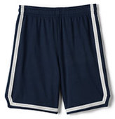 Lands' End Boys Mesh Athletic Shorts-Classic Navy