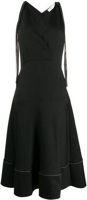 Proenza Schouler White Label Sleeveless Racerback Dress