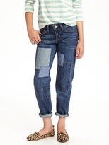 Old Navy Patch Boyfriend Skinny Jeans for Girls