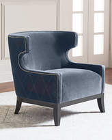 Bernhardt Lennox Diamond Tufted Accent Chair