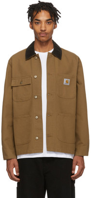 Carhartt Work In Progress Brown Michigan Jacket