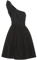 Prada One-shoulder silk dress