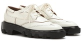 Balenciaga Leather Derby Shoes