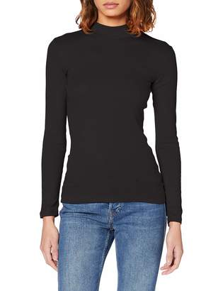 Dorothy Perkins Women's Plain Funnel Neck Blouse