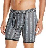 Umbro Men's Performance Stretch Striped Boxer Brief