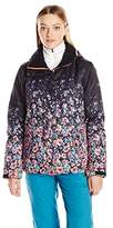 Roxy SNOW Women's Jetty Printed Gradient Regular Fit Jacket
