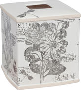JCPenney Creative BathTM Sketchbook Botanical Toile Tissue Cover