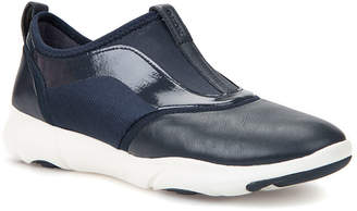 Geox Nebula Slip-On Leather Sneakers