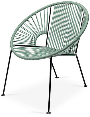 Mexa Ixtapa Lounge Chair - Olive Green
